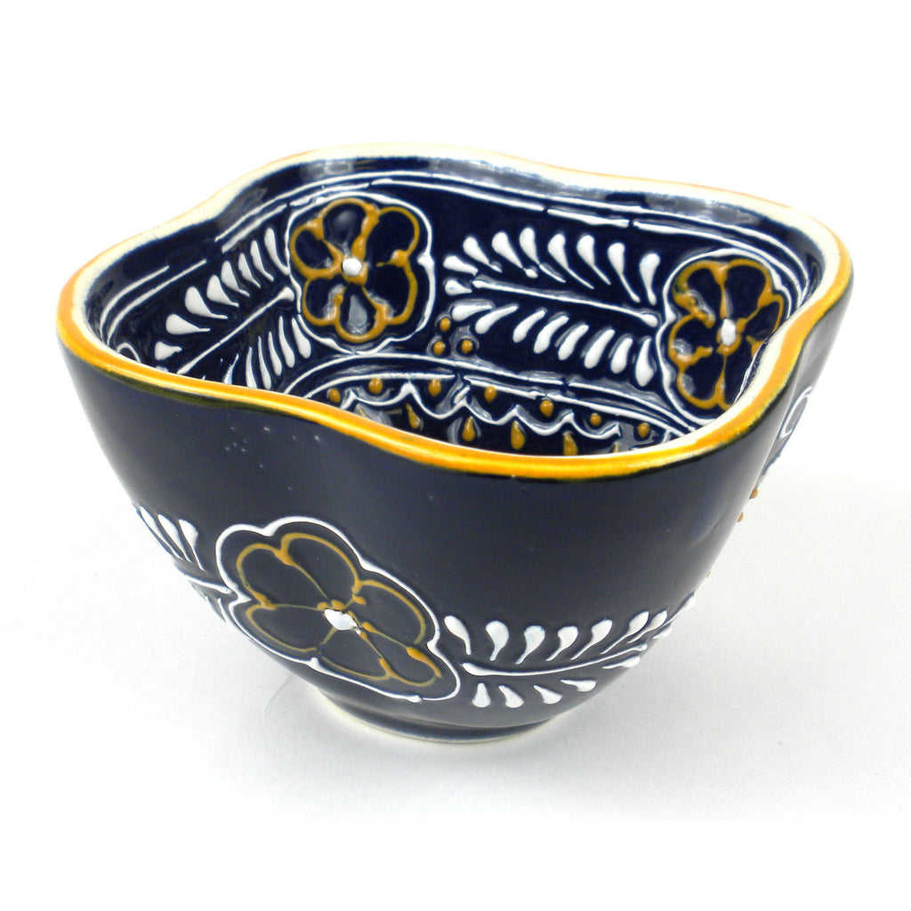 Dip Bowl - Blue Handmade and Fair Trade