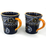 Pair of Flared Cup - Blue Handmade and Fair Trade