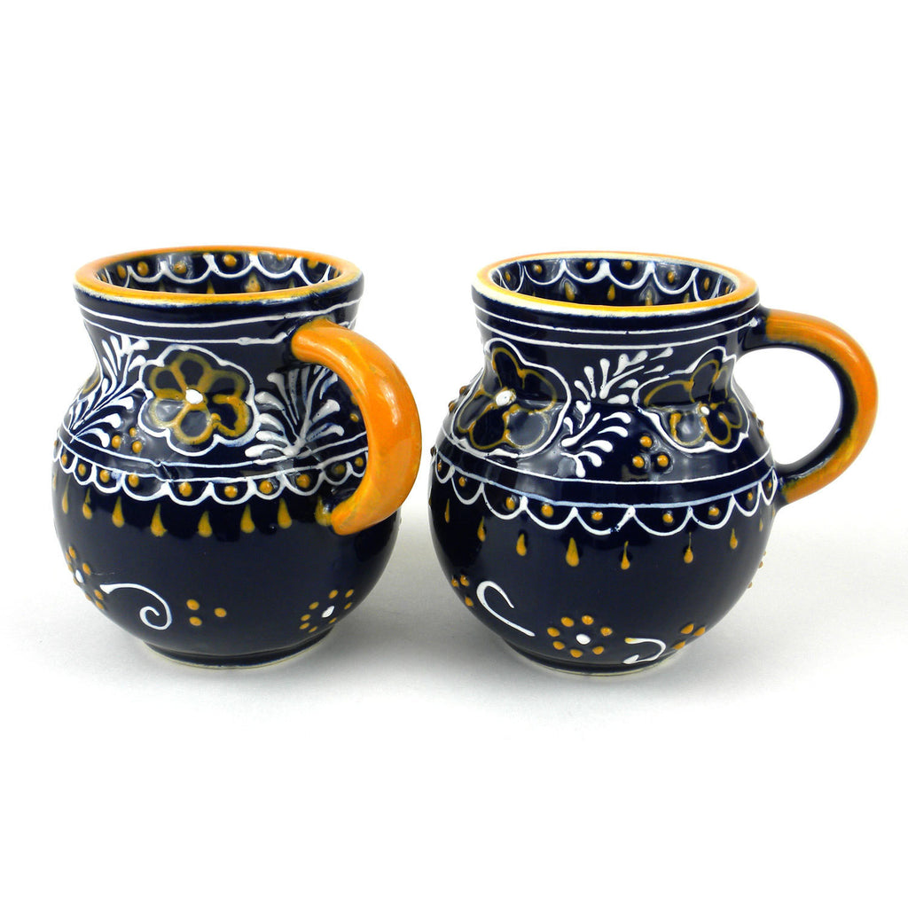 Pair of Beaker Cup - Blue Handmade and Fair Trade