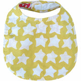 Batiked Baby Bib Gold Star Design - Global Mamas (B)