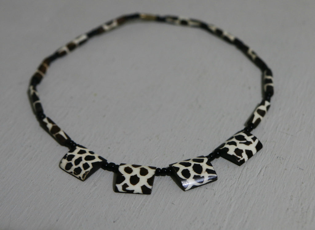 Giraffe Print Necklace