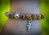 Owl Bracelet by Green Global Travel