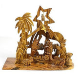 Bethlehem Olive Wood Nativity Handmade and Fair Trade