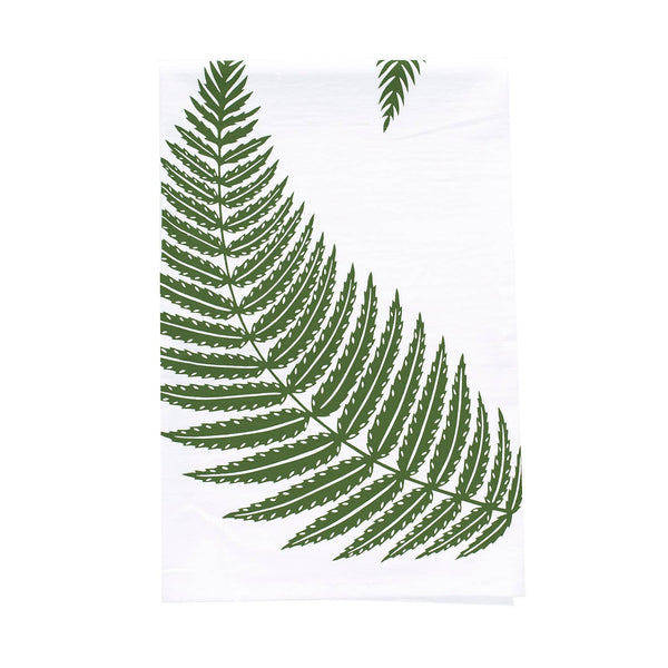 Fern Flour Sack Towel • Bird Mafia