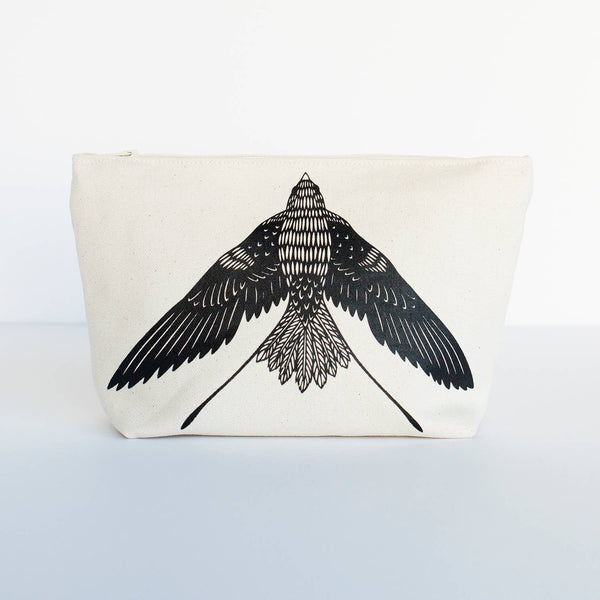 Swallow Cosmetic Pouch • Bird Mafia