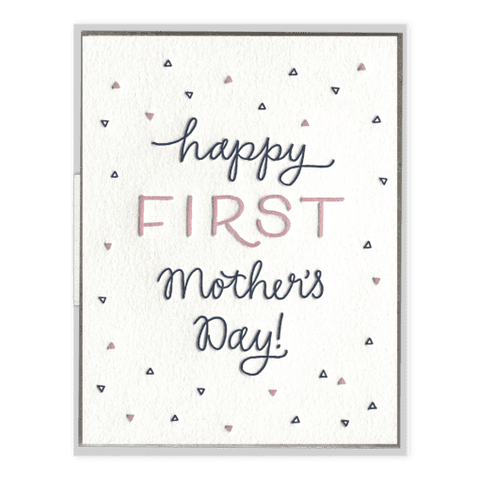 First Mother's Day | Letterpress Card