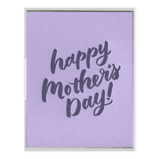 Happy Mother's Day | Letterpress Card