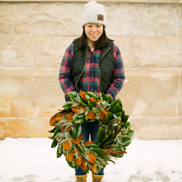 Maxwell Wreath | PICKUP OR DELIVERY | 11/28 through December