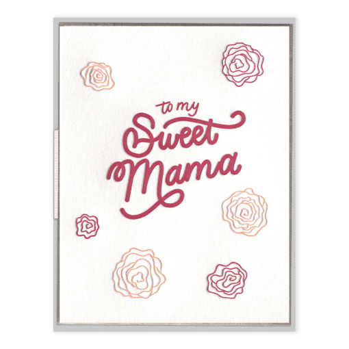 Sweet Mama | Letterpress Card