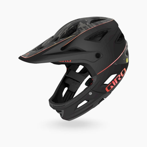 Switchblade MIPS Helmet (Switchblade MIPS Helmet) - MATTE BLACK HYPNOTIC