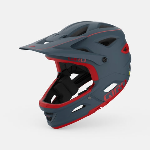 SWITCHBLADE MIPS HELMET - MATTE PORTARO GREY/RED