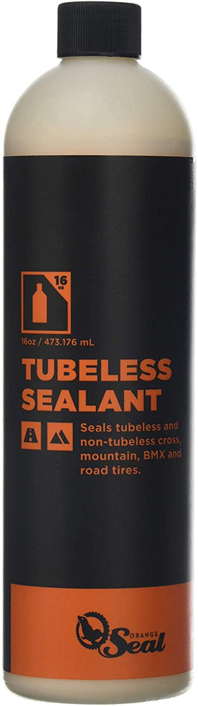 Orange Seal Tubeless Tire Sealant 4Oz Bottle - Injection System