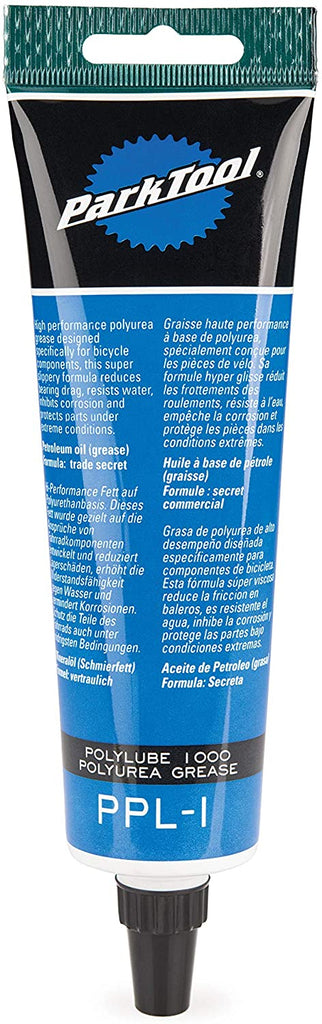 Park Tool Lube Park Polylube 1000 4Oz Tube Grease Ppl-1