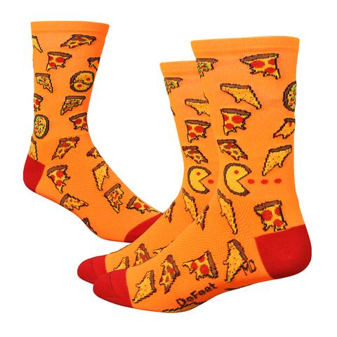 "Defeet Socks Aireator 6"" Pizza Party"