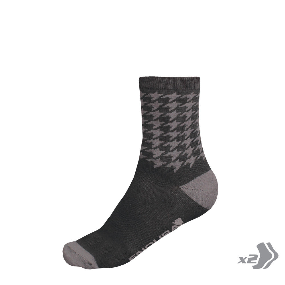 Houndstooth 2-Pack Socks