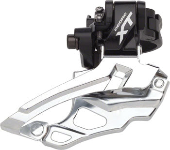 QBP Shimano XT FD-M786 2x10 Traditional, Dual-Pull Multi-clamp Front Derailleur
