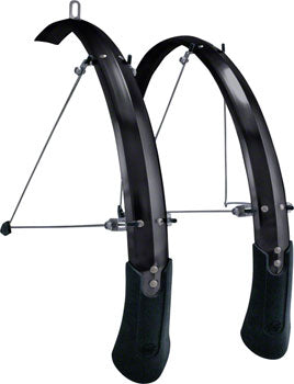 Planet Bike Cascadia ALX 700c x 50 Fender Set: Black (700c x 30-40)