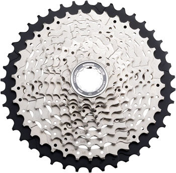 Shimano Deore M6000 CS-HG500 Cassette - 10 Speed, 11-42t, Silver/Black