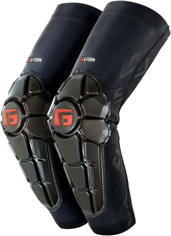 G-Form Pro-X2 Elbow Youth Pads: Black Embossed LG/XL