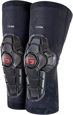 G-Form Pro-X2 Knee Pads - Black Embossed, 2X-Large