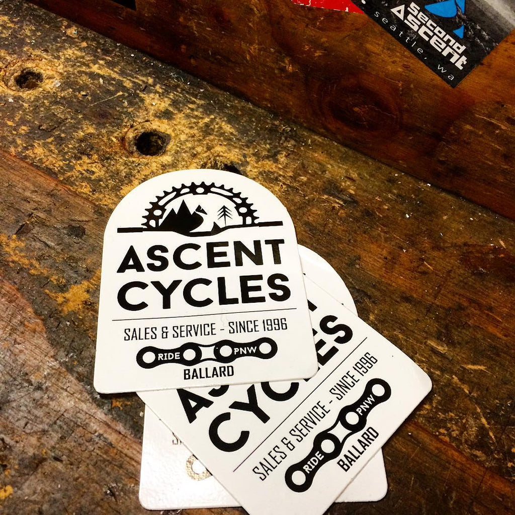 Ascent Cycles Sticker