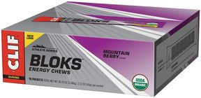 Clif Shot Bloks Energy Chews, Ginger Ale - 60g (18/Box)