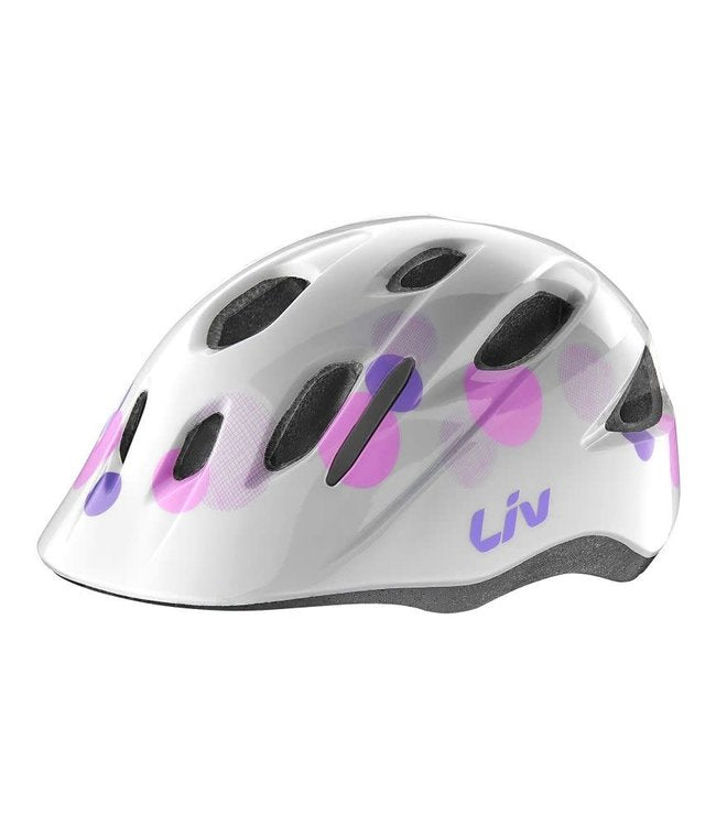 Liv Musa Mips Youth Helmet Osfm White Bubble