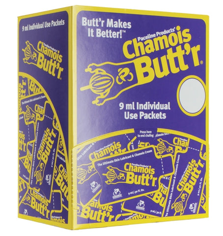 Paceline Chamois Butt'r Original, 75 - 9ml/.3oz Packets Feeder POP Box