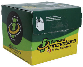 Genuine Innovations Microflate Nano Green CO2 Inflator+16g Cart ORM-D