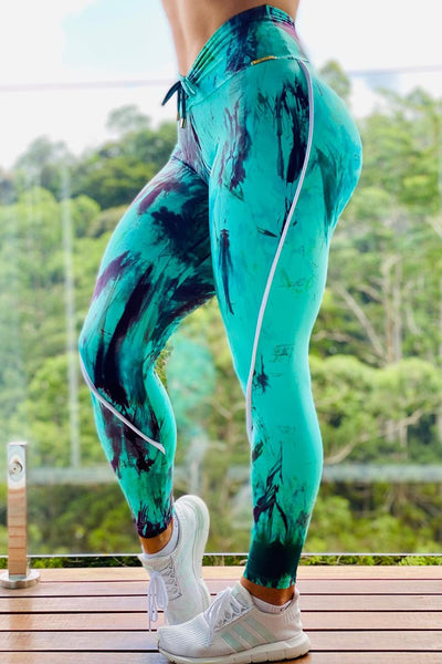 Tye Dye Legging High Waist