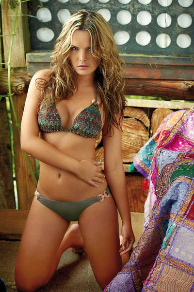 T40581 Triangle Two Piece Bikini by PHAX