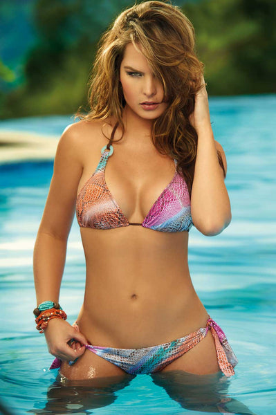 T40593 Triangle Two Piece Bikini by PHAX