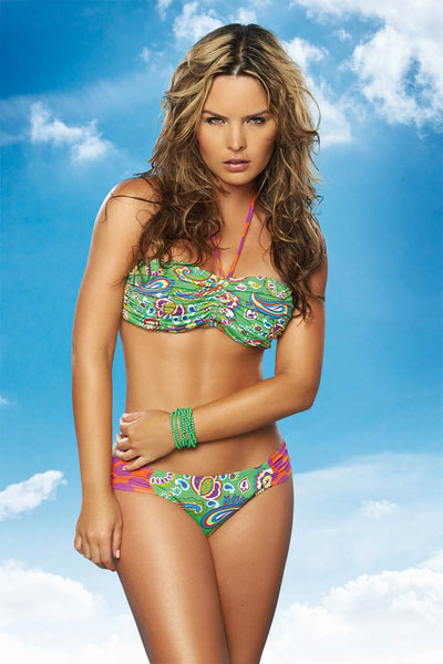 T40606 Triangle Two Piece Bikini by PHAX