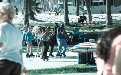 Venice beach is bringing roller skating back