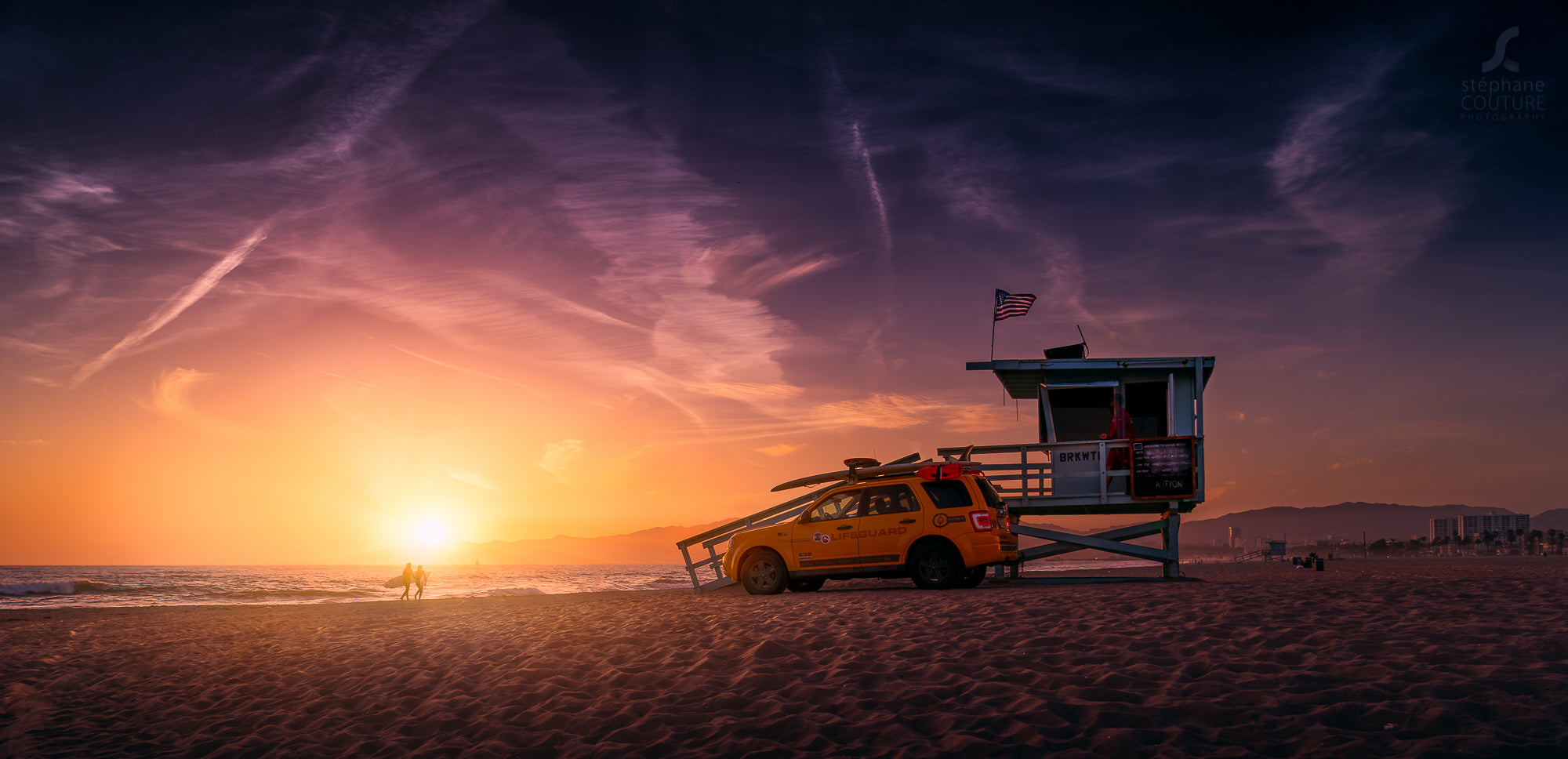 Stephane Couture's Venice Sunsets