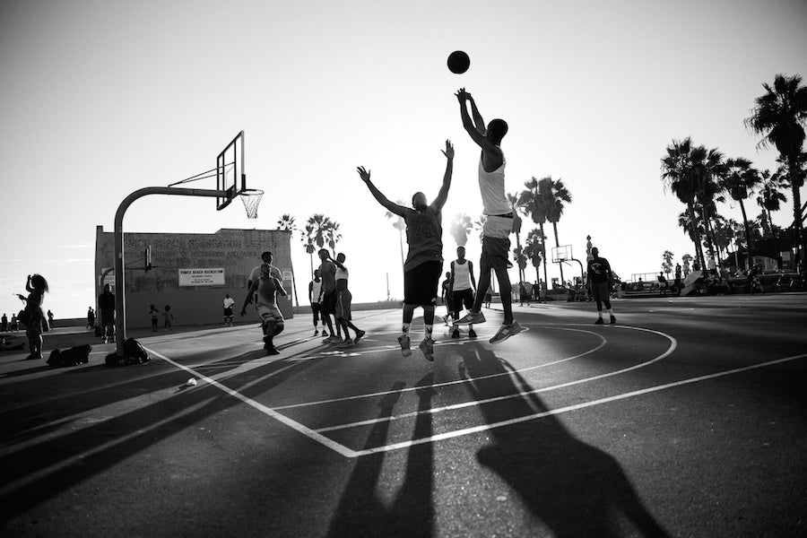 Venice Basket Ball courts