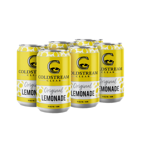 Coldstream Clear Hard Lemonade 6 pack cans