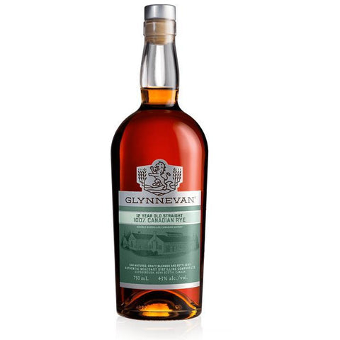 Glynnevan 12 Year Aged 100% Rye Whisky 750 ml