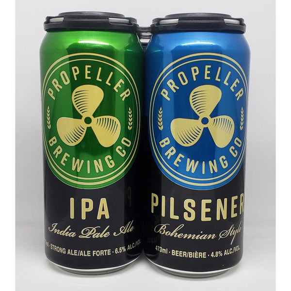 Propeller Assorted 4 Pack Cans