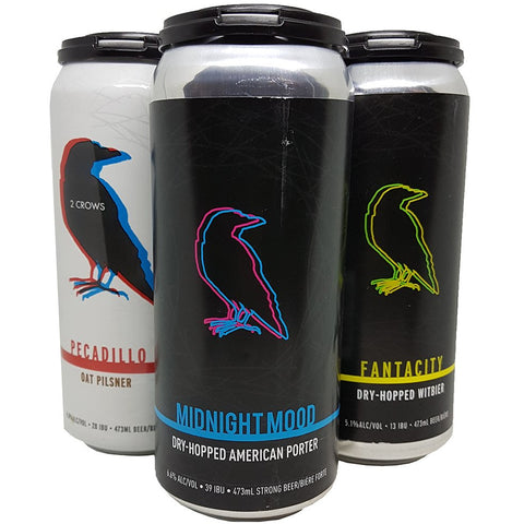 2 Crows Brewing Assorted 4 pack