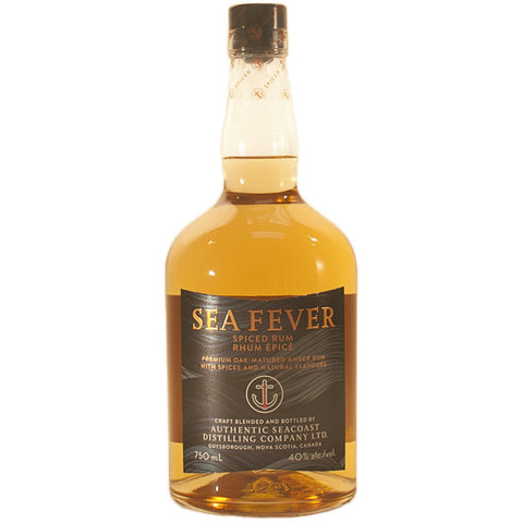 Authentic Seacoast Sea Fever Spiced Rum 750 ml