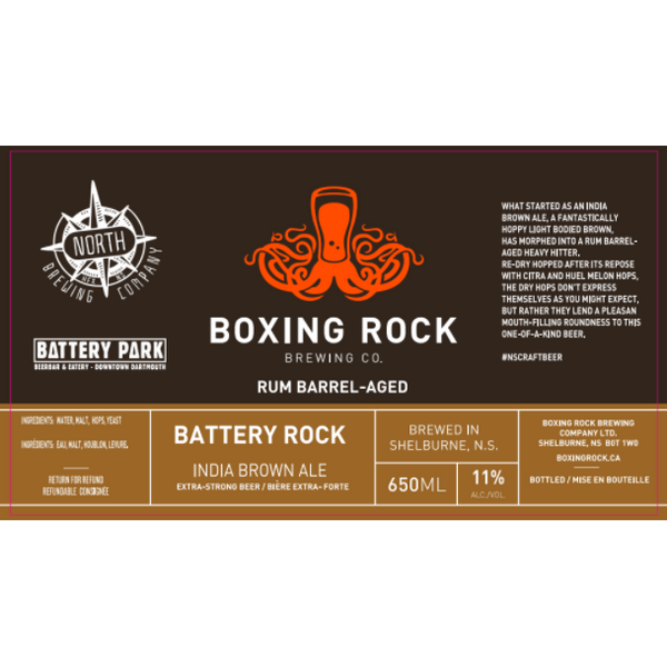Boxing Rock Battery Rock India Brown Ale