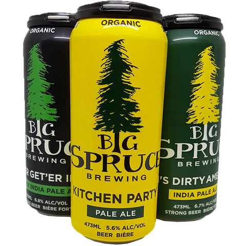 Big Spruce Brewing Assorted 4 pack cans