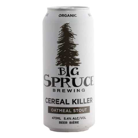 Big Spruce Brewing Cereal Killer Oatmeal Stout 4 pack