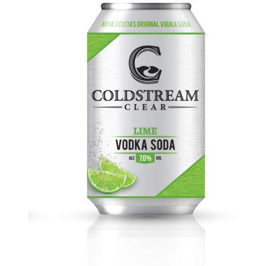 Coldstream Clear Vodka Soda Lime 6 pack cans