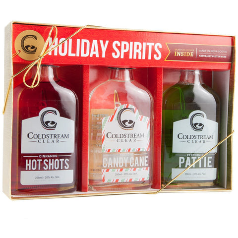 Coldstream Clear Holiday Liqueur Gift Box