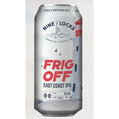 Nine Locks Frig Off East Coast IPA 4 pack