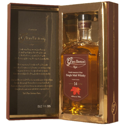 Glen Breton Rare 14 year 750 ml