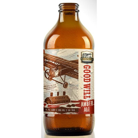 Annapolis Brewing Good Will Amber Ale 355 ml