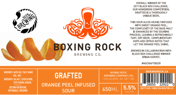 Boxing Rock Grafted - Orange Peel Infused Sour Ale